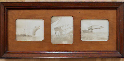 3 Photos English Navy History, Zeppelin, original Fotos, extremly rare, selten