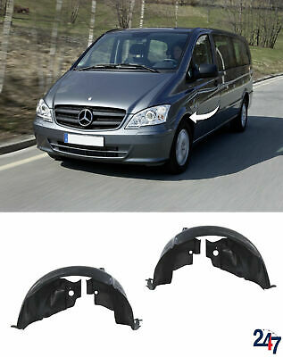 New Mercedes Benz Vito W639 10-14 Front Inner Wheel Arch Cover Left+Right Set