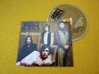 The All-American Rejects ‎– Gives You Hell (M-/EX++) Cd single ç