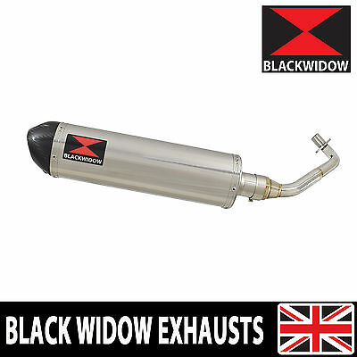 Piaggio Vespa GTV 250 ie 60 2007 Oval Stainless Steel End Can Silencer 400ST