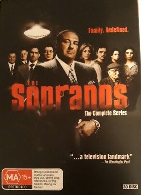 The Sopranos The Complete Series Season 1-6+bonus DVD 2015,30 Disc set , Box set