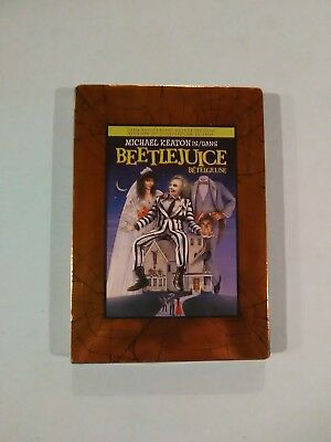 Beetlejuice (DVD, 2008, 20th Anniversary Deluxe Edition) New