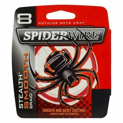 Spiderwire Stealth Smooth 8 Carrier Braid Code Red 300m