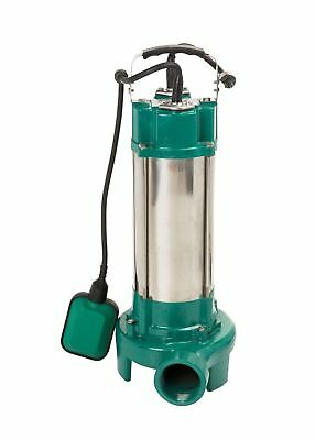 Submersible Sewage Dirty Water Deep Well Cesspool Grinding Pump 2,2kW 400 l/min