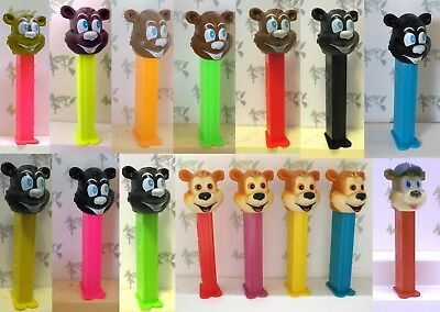 PEZ - Bears (Misfit and otherwise) - Choose Bear from Pull Down Menu