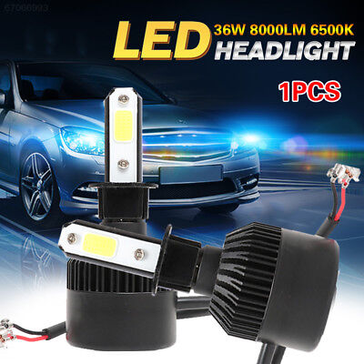 C573 Front Lamp 8000LM Car Accessories LED Headlight S2 H3 36W