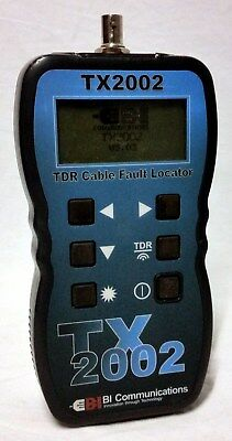 TX 2002 TDR cable fault locator