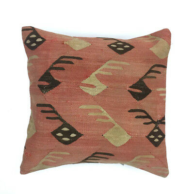 Vintage Kilim Cushion Cover Kelim Pillow 50x50cm Moroccan  style  5017