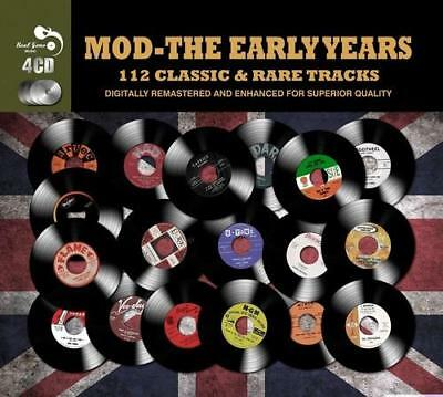 MOD THE EARLY YEARS 112 Classic &Rare Tracks NEW & SEALED 4XCD NORTHERN SOUL R&B