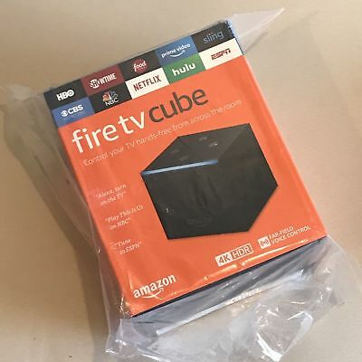 Amazon Fire Tv Cube Hands-Free With Alexa And 4K Ultra HD Streaming Media Player
