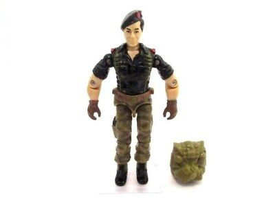 GI Joe Action Force Cobra ☆ FLINT v1 OFFICER ☆ Figure Rare Vintage Hasbro 1985