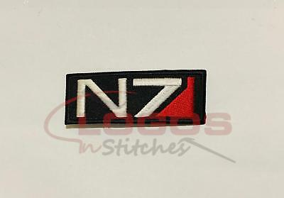 Mass Effect Game N7 Tactical Ops Cosplay Embroidered Iron On Sew On Patch 588Sh