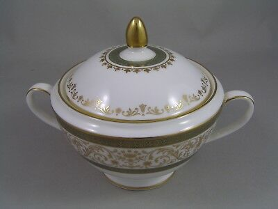 Minton Aragon Lidded Sugar Bowl.