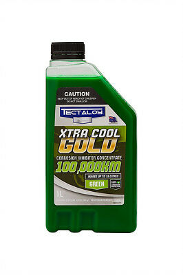 Tectaloy XTRA Cool Gold Concentrate Coolant Green 1L