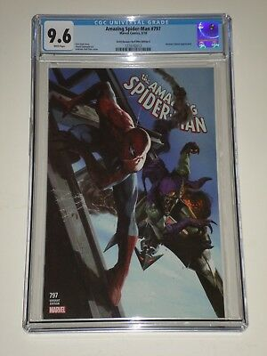 Amazing Spider-Man 797 (2018) CGC 9.6 Dell'Otto Variant 'A' Comicxposure