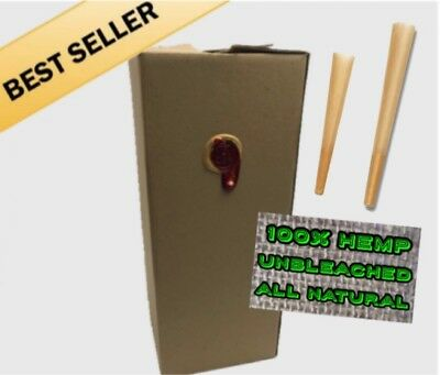 100 Pack - Full Melt Fusion Classic King Size Pre-Rolled Hemp Cones 110mm