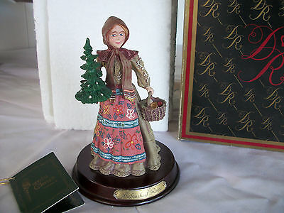 Duncan Royale History Of Santa Clause Babouska Figure 6 1/2""
