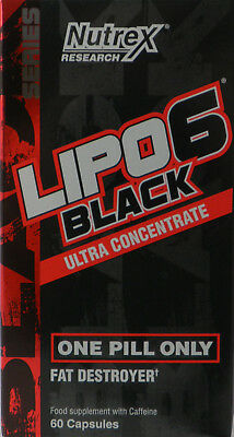 Top Nutrex Lipo 6 Black Ultra Concentrate - 60 Kapseln Fat Burner