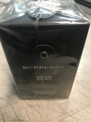 Burberry Touch by Burberry 1 oz EDT Cologne for Men New In Box.  >