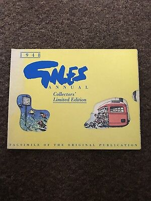 Giles 1948 Annual- Collectors' Limited Edition BRAND NEW IN BOX. RRP: £14.99
