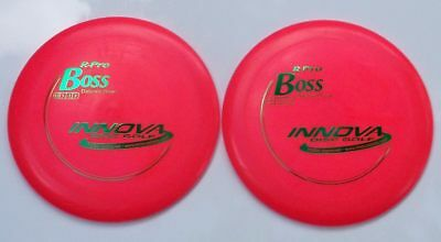 Innova Pro-Line Boss [2-Pack] 158.75 & 158.75 Grams Hot Pink W/green Hot-Stamps