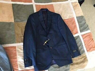 c79e5103f5a65d Ted Baker London endurance jay ct navy pinstripe blazer sport coat 36 S  mens NEW