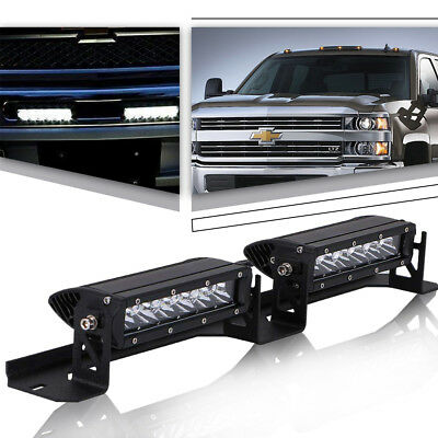 7INCH PODS LED LIGHT OFFROAD Mounting Bracket For Chevrolet Silverado 2500 3500