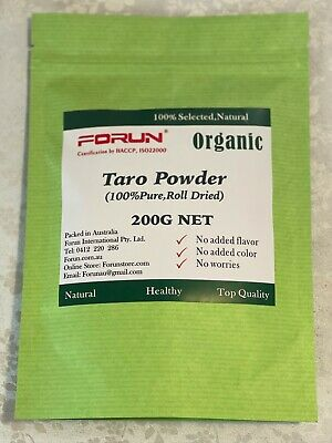 FORUN Natural Taro Powder  100G - 100% Pure,No Colorant,No Flavour
