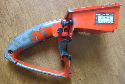 HOMELITE XL 12 Chainsaw Rear Handle With Reed Valve - $20 00   PicClick