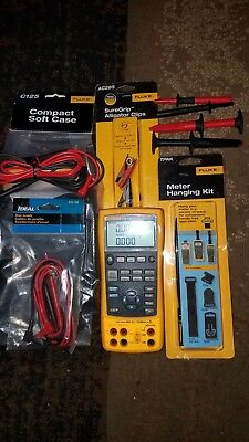 Fluke 724 Temperature Calibration Multimeter...gently used with extras
