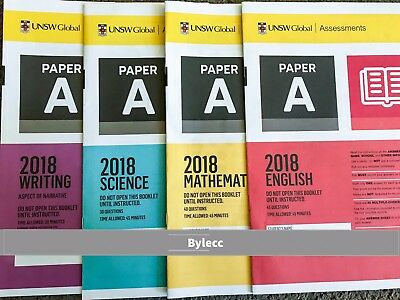 ICAS Year 3 (A) Past Papers lot - All subjects  ~ with 2018 papers