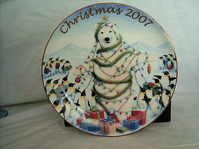 Plate - Sharing the Holiday with Friends - China - 2007 - No Box