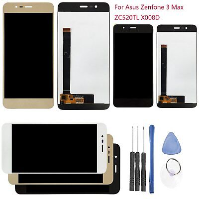 """Replacement LCD Touch Screen Digitizer For Asus ZenFone 3 Max ZC520TL X008D 5.2"""""""
