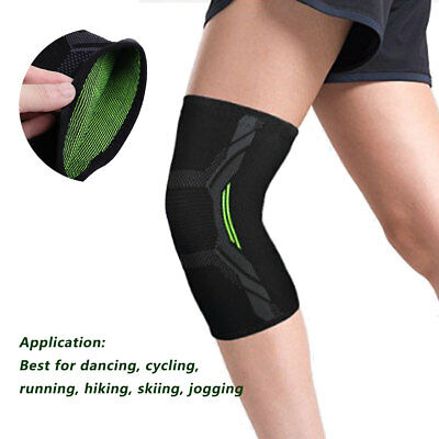 1 Pair Knee Compression Support Brace Sleeves for Arthritis Running Pain Relief