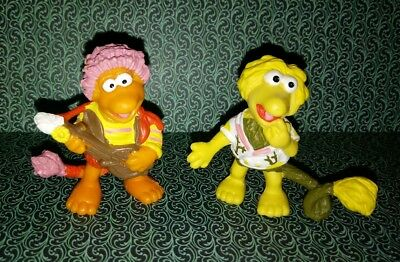 Vintage Fraggle Rock Wembley & Gobo PVC Figures 1983 Schleich W. Germany Henson