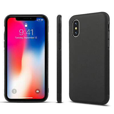 For iPhone XR XS Max X 8 7 Plus Shockproof Protective Rugged TPU Back Case Cover