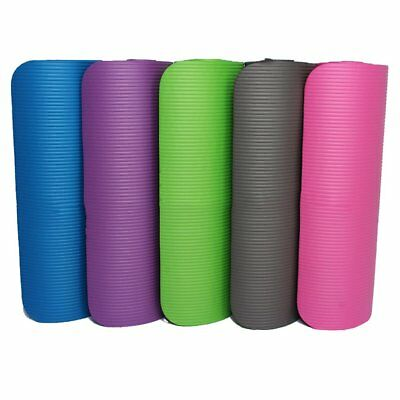 Thicken Foam Yoga Mat 10mm Thick Gymnastics Exercise Pad For Body Building MM