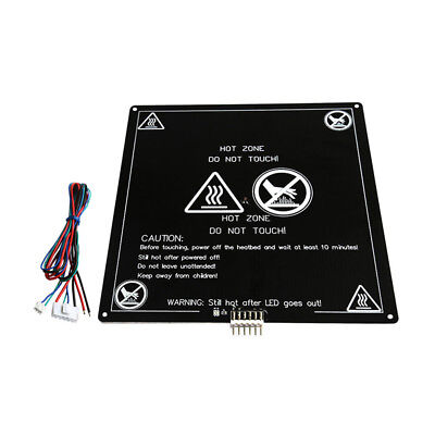 Heated Bed Black Parts HotBed Aluminum Substrate PCB Accessories for 3D Printers