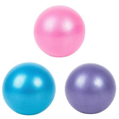 US Small Exercise Yoga Ball for Abdominal Workouts Yoga Pilates At-Home Workouts