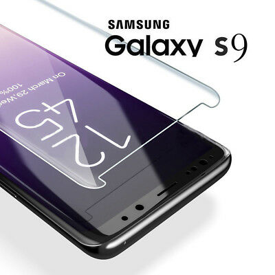 5D Curved 9H Tempered Glass Film For Samsung Galaxy S8 S9 Plus Screen Protector