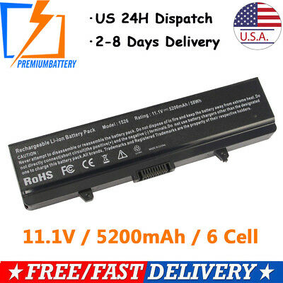 6 Cell Battery for Dell Inspiron 1525 1440 1545 1546 1526 RN873 K450N X284G