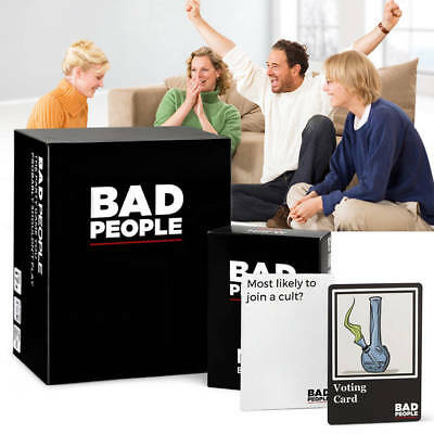 Bad People-The Party Game You Probably Shouldn't Play Family Friends Party Games