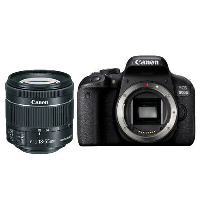 Canon EOS 800D con Objetivo EF-S 18-55mm f/4-5.6 IS STM