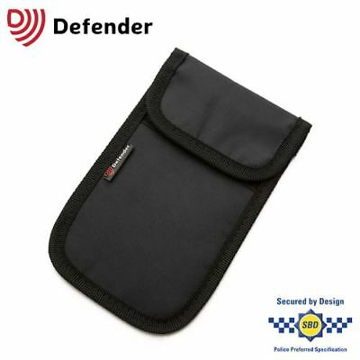 Genuine Defender Signal Blocker Pouch Car Key Fob Signal Jamming Black UK