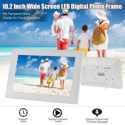 10.2'' WiFi Network Cloud Touch Screen Tempered Glass Digital Photo Frame GIFT