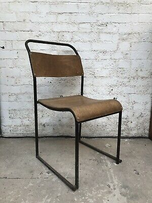 Vintage 1950'S Wooden Stacking Chairs