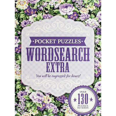 Pocket Puzzles - Wordsearch Extra (Paperback), Non Fiction Books, Brand New