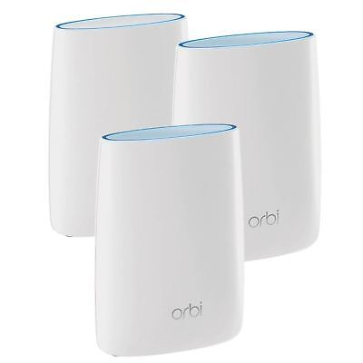 NETGEAR Orbi RBK23 Whole Home Wifi System Triple Pack Cover up to 4500 sq ft