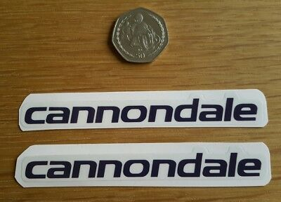 CANNONDALE Headshok Fatty SL D Forks Decals Stickers Graphic Set Adhesive White