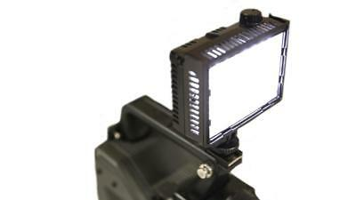 Litepanels LP-MICRO On-Camera Dimmable LED 5600K Light uses AA Batteries
